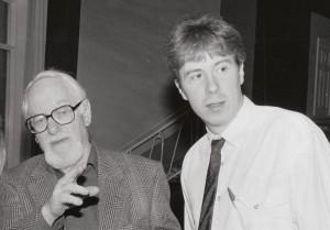 David Kossoff and me 1993