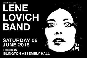 Lene Lovich 2015 concert