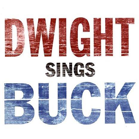 Dwight sings Buck album cover