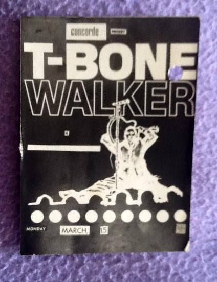 T-Bone Walker autograph 1