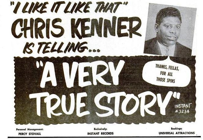 Chris Kenner poster
