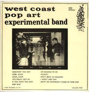 The West Coast Pop Art Experimental Band Volume One
