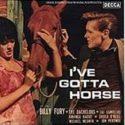 Billy Fury I've Gotta Horse EP