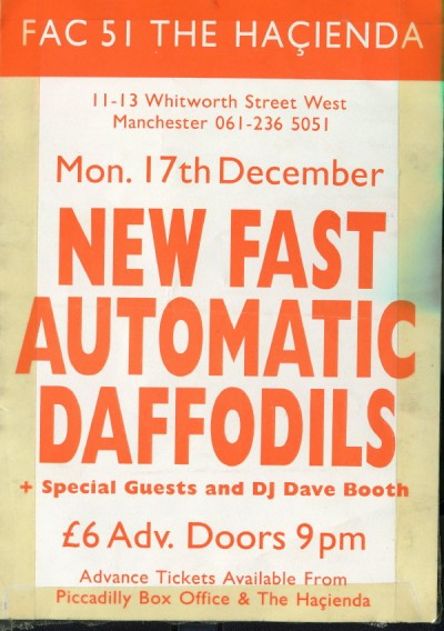 New Fast Automatic Daffodils poster