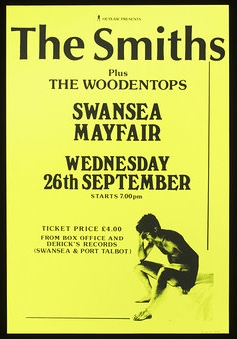 The Woodentops Smiths poster