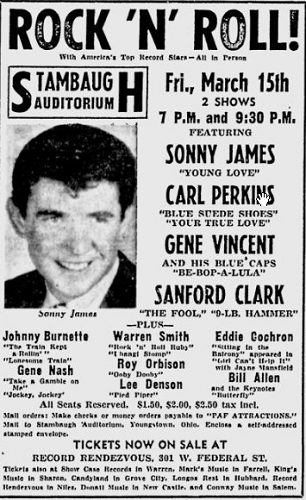 Sanford Clark poster
