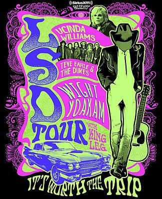 Lucinda Williams tour poster